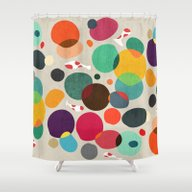 Shower Curtain featuring Lotus In Koi Pond by Budi Kwan