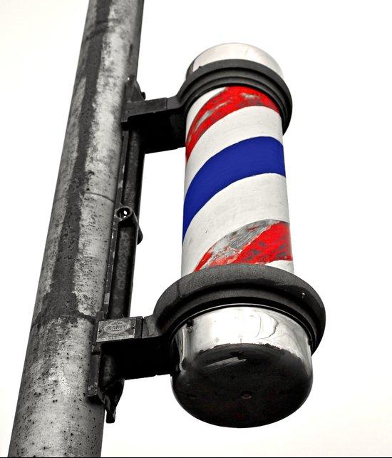 Haircuts here Art Print