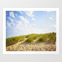 Summer Dunes Art Print
