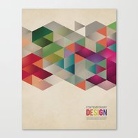 contemporary design Canvas Print