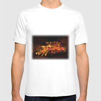 Candy Cane Lane Chevy Tr… Mens Fitted Tee White SMALL