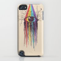 iPod Touch Cases featuring Look into the Future by Norman Duenas