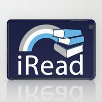 i Read | Book Nerd Slogan iPad Case