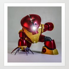 iron guy Art Print