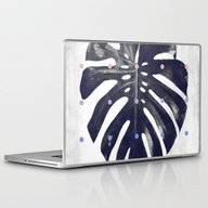 Monstera + Dots Laptop & iPad Skin