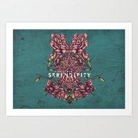 SERENDIPITY Art Print