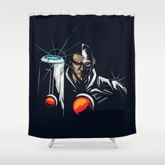 Sliver Fists Shower Curtain