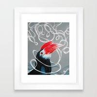 Hornbill Framed Art Print