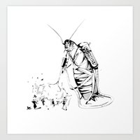 _life Like A Cockroach Art Print