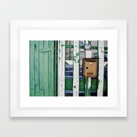 post Framed Art Print