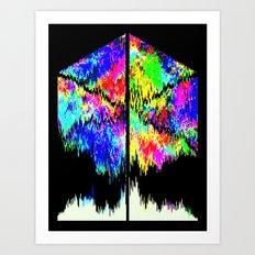 Calamity Inverted Art Print