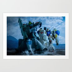 ESCORTING GP02 Art Print
