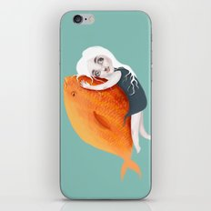 The Fish Girl iPhone & iPod Skin