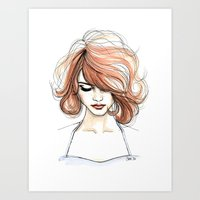Nora Art Print