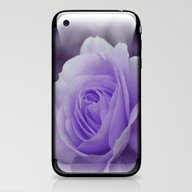 Lavender Rose 2 iPhone & iPod Skin