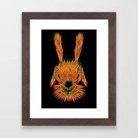 Year of The Rabbit Framed Art Print