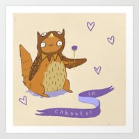In Cahoots Art Print