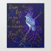 Dream Big I Canvas Print