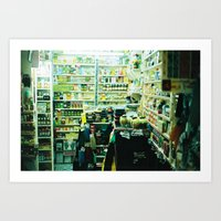 Pharmacy, Marrakech, Morocco  Art Print