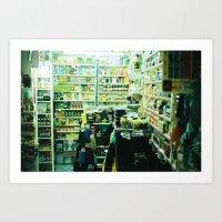 Pharmacy, Marrakech, Mor… Art Print