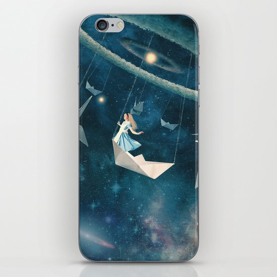 My Favourite Swing Ride iPhone & iPod Skin