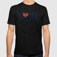 Love Cavs Mens Fitted Tee Tri-Black SMALL