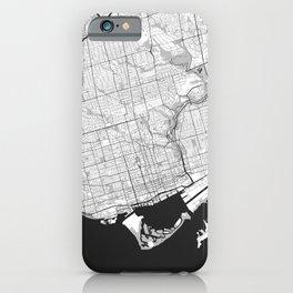 iPhone & iPod Case - Toronto G - City Map Art