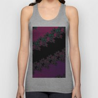 Fractal Layered Lace  Unisex Tank Top