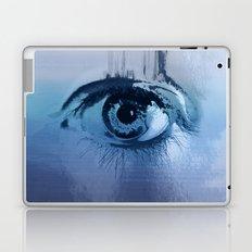 behind blue eyes Laptop & iPad Skin