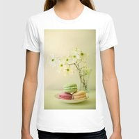 One Spring Day Womens Fitted Tee White SMALL
