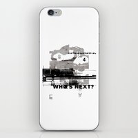 Who's Next? iPhone & iPod Skin