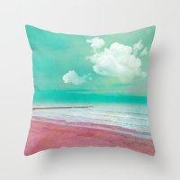 BEACHSCAPE Throw Pillow