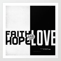 Faith, Hope, Love II Art Print
