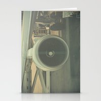 Vintage Airplane Engine  Stationery Cards