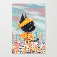 Raincoat 1 Canvas Print
