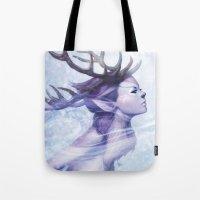 Deer Princess Tote Bag
