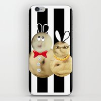 couple2 iPhone & iPod Skin