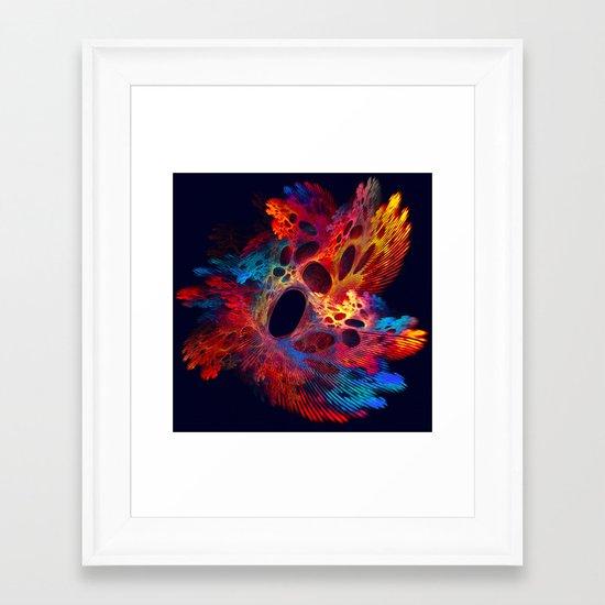 Red Algae Framed Art Print