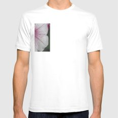 Flower Mens Fitted Tee SMALL White