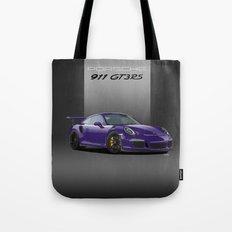 Porsche 911 GT3 RS in Ultraviolet Tote Bag
