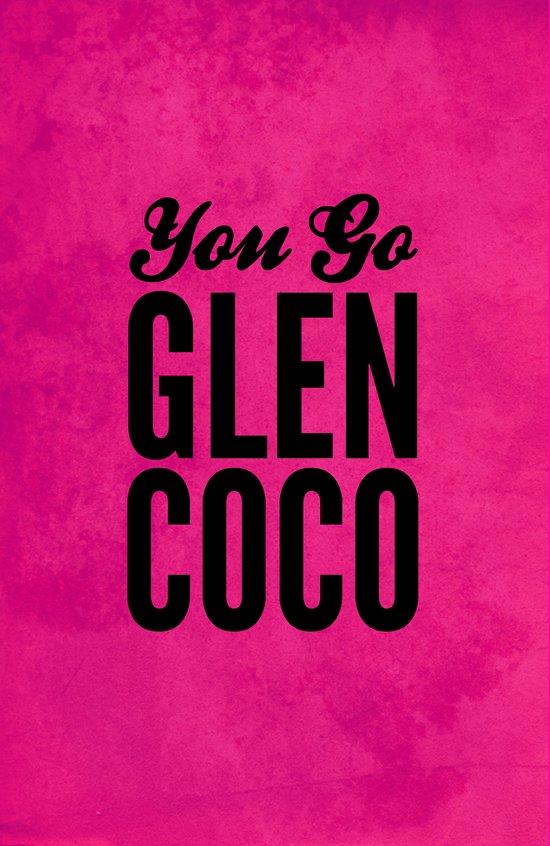 Glen Coco Pink Art Print