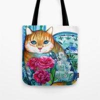 Beautiful Cat Tote Bag