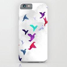 Paper birds iPhone 6 Slim Case