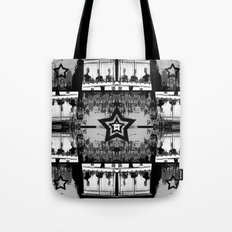 Masking The Inhuman Populace Tote Bag