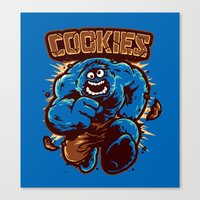 Cookies! Canvas Print