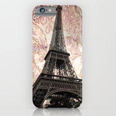 Floral Eiffel Tower iPhone 6 Slim Case