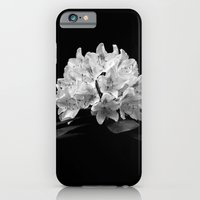 iPhone & iPod Case featuring Rhododendron In Black And White by TDSWHITE