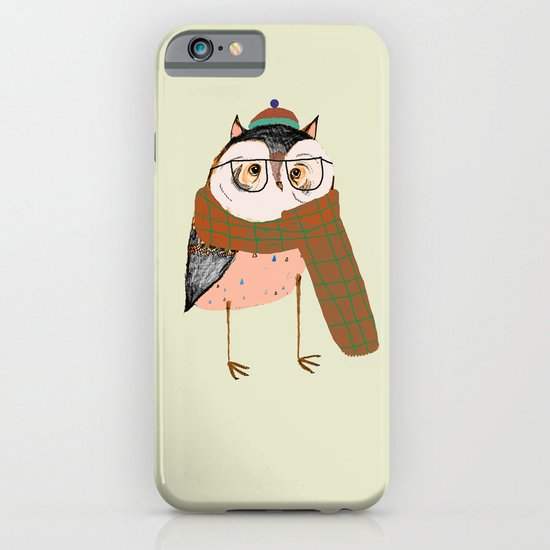 Owls Love Scarfs.  iPhone & iPod Case