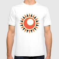 Hollow star  Mens Fitted Tee White SMALL
