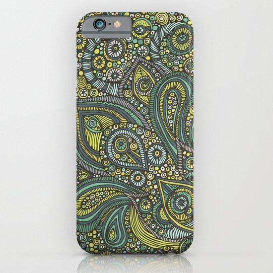 Blue safari iPhone & iPod Case